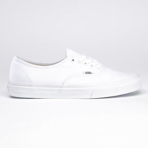 Męskie obuwie sportowe, buty VANS - Authentic True White (W00)