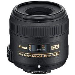 Nikon Nikkor AF-S Micro 40 f/2,8 G DX - BEZPŁATNY ODBIÓR: WROCŁAW!
