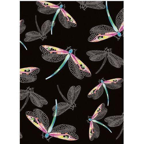 Pozostałe artykuły szkolne, Karnet B6 z kopertą Dragonflies