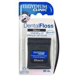 ELGYDIUM nić dentystyczna czarna 50m