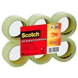 Taśma pakowa SCOTCH® (S5066F6), akrylowa, 50mm, 66m, transparentna