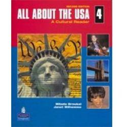 All About The Usa 4 - Book & Audio Cd [Książka Z Płytą Cd] (opr. miękka)
