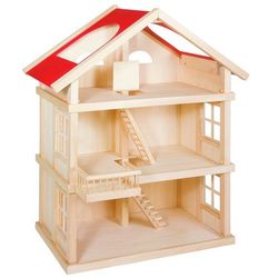 HIT SPRZEDAŻOWY!! Wyjątkowy wielopiętrowy drewniany domek dla lalek