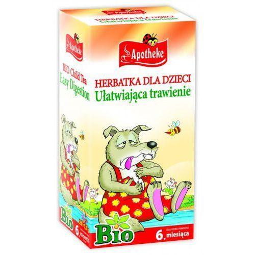 Herbatki dla dzieci, Apotheke BIO Herbatka dla dzieci ułatwiająca trawienie, 20 torebek