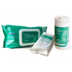 Medilab Mediwipes DM chusteczki bezalkoholowe do dezynfekcji 100szt. wkład