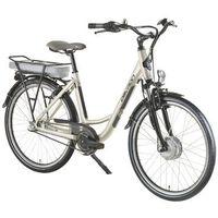 """Pozostałe rowery, Rower elektryczny Devron 26120 - model 2016, Piaszczysty szary, 18"""""""