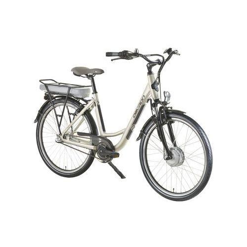 """Rowery elektryczne, Rower elektryczny Devron 26120 - model 2016, Piaszczysty szary, 18"""""""