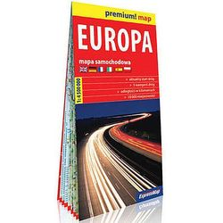 Premium!map Europa1:4 500 000 mapa (opr. broszurowa)
