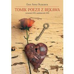 Tomik poezji z rękawa wrzesień 1991-październik 1994 (opr. broszurowa)