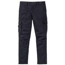 Spodnie chino Slim Fit bonprix głęboki zielony