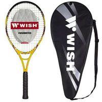 Tenis stołowy, Rakieta do tenisa ziemnego WISH Fusiontec 500 Żółto-czarny