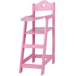 Eddy Toys Krzeselko dla lalek, drewniane - BEZPŁATNY ODBIÓR: WROCŁAW!