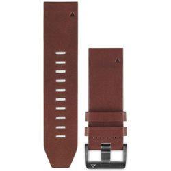 Garmin fenix 5 Leather Bracelet QuickFit 22mm, brown 2019 Akcesoria do zegarków Przy złożeniu zamówienia do godziny 16 ( od Pon. do Pt., wszystkie metody płatności z wyjątkiem przelewu bankowego), wysyłka odbędzie się tego samego dnia.