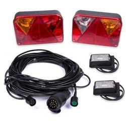 Zestaw: Lampy tylne zespolone DPT 35 ze światłami obrysowymi DPT 15 i wiązką 7 m 13-pin