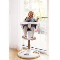 Krzesełka do karmienia, Wysokie obrotowe krzesełko do karmienia FLORA - różowe
