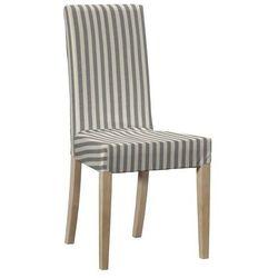 Dekoria Sukienka na krzesło Bertil bez wiązań Quadro 136-12, krzesło Bertil