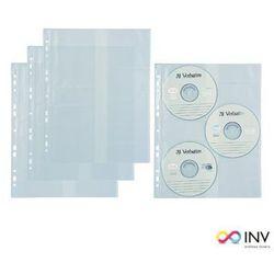 Koszulki A4 na 3 CD-R BIURFOL (10szt) ET-19