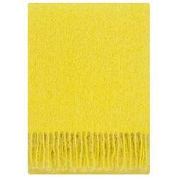 Koc z moherem Lapuan Kankurit Saaga yellow 130x170 cm