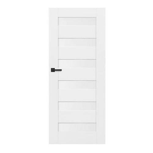 Drzwi wewnętrzne, Drzwi pełne Trame 60 prawe białe