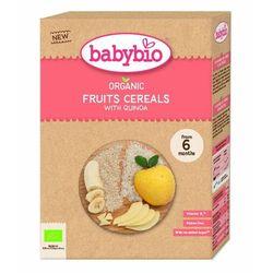 Kaszka zbożowa z owocami od 6 miesiąca bezglutenowe BIO 200 g BabyBio