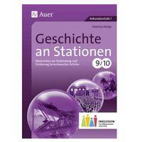 Pozostałe książki, Geschichte an Stationen, Klassen 9/10 Inklusion Hertje, Victoria