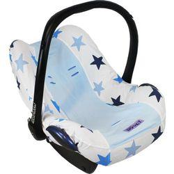 Pokrowiec do fotelika Dooky Seat Cover - Blue Stars T-XP-126809