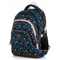 Tornistry i plecaki szkolne, Karton P+P plecak szkolny OXY SCOOLER Magnolia dark