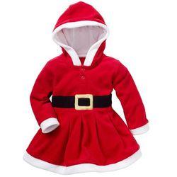 Sukienka świąteczna dla niemowląt bonprix czerwony