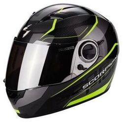 SCORPION KASK EXO-490 VISION BLACK-NEON- YELLOW