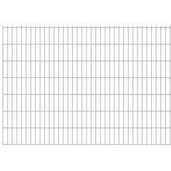 Panel ogrodzeniowy 2008x1430 mm, srebrny