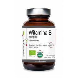 Witamina B Complex z BIO ekstraktu z gujawy świętej bazylii i cytryny 60 kapsułek kenayAG