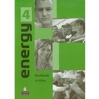 Książki do nauki języka, Energy 4 Workbook (opr. miękka)