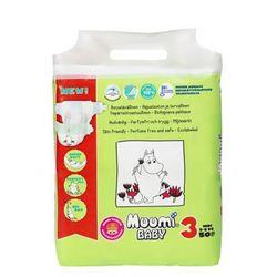 Ekologiczne pieluszki jednorazowe 3 Midi 5-8 kg 25 szt Muumi