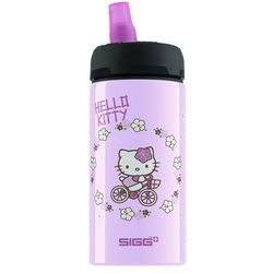 SIGG - Butelka 0,4L Hello Kitty Bike