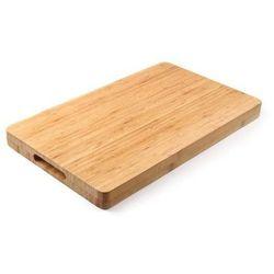 Drewniana deska do krojenia Bamboo | prostokątna | 330x250x(H)40mm