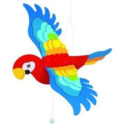 Zawieszka nad łóżeczko - papuga