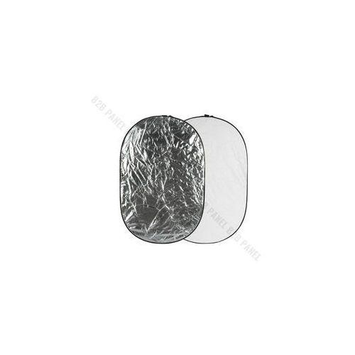 Blendy fotograficzne, GlareOne Blenda 2w1 srebrno biała, 60x90cm