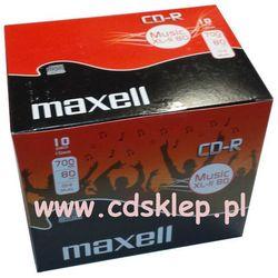 CD-R Maxell AUDIO 700MB pudełko box 10szt.