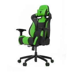 Vertagear S-Line SL4000 Racing Series Krzesło gamingowe - Czarno-zielony - Skóra PU - 150 kg