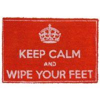 Wycieraczki, Zachowaj spokój i wytrzyj stopy
