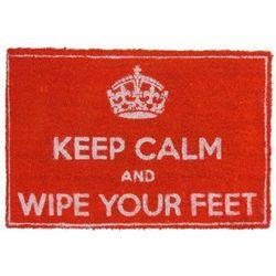 Zachowaj spokój i wytrzyj stopy