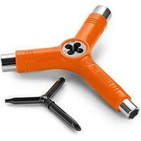 Pozostały skating, narzędzia PIG WHEELS - Tri-Socket Threader Tool Orange (ORANGE) rozmiar: OS