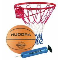 Koszykówka, Zestaw do koszykówki kosz obręcz piłka pompka Slam It Hudora