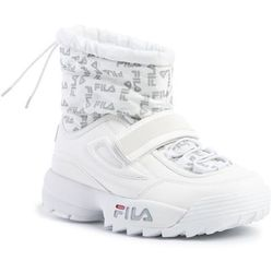 Śniegowce FILA - Disruptor Neve Mid Wmn 1010750.1FG White
