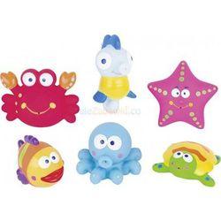 Gumowe zabawki do kąpieli - Zwierzątka Potworki