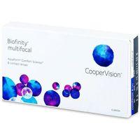 Soczewki kontaktowe, Biofinity Multifocal (6 soczewek)