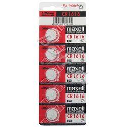 5 x bateria litowa Maxell CR1616