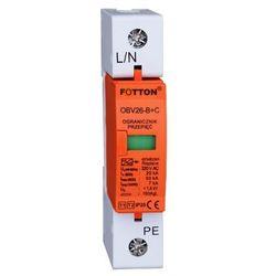 Ogranicznik przepięć FOTTON OBV26-B+C/1P kl I,II 20/65kA 275V AC