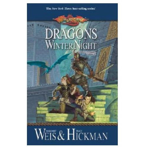 Książki do nauki języka, Dragons of Winter Night Book 2 Dragonlance Chronicles