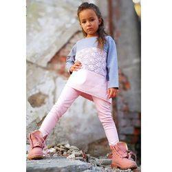 Modna tunika dla dziewczynki